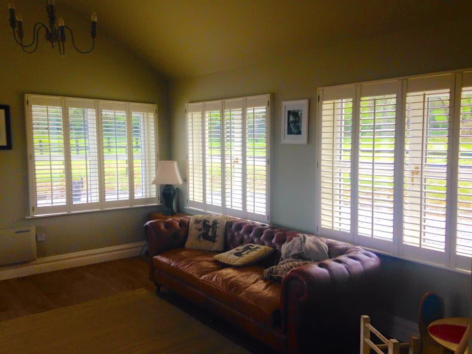 Front Room Plantation Shutters